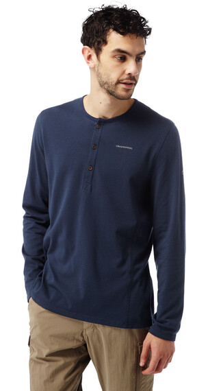 Craghoppers NosiLife Newark - Camiseta de manga larga - Long Sleeved azul